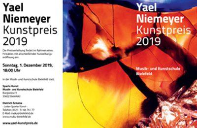 Yael Niemeyer Kunstpreis 2019 – Bewerbe dich jetzt!